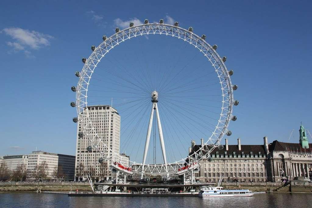 عين لندن من اهم معالم مدينة لندن انجلترا