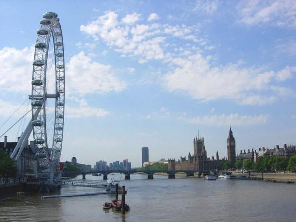 عين لندن من اهم اماكن السياحة في لندن انجلترا