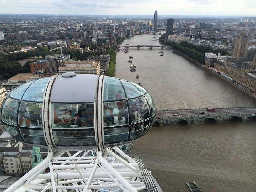 عجلة لندن من اهم الاماكن السياحية في لندن