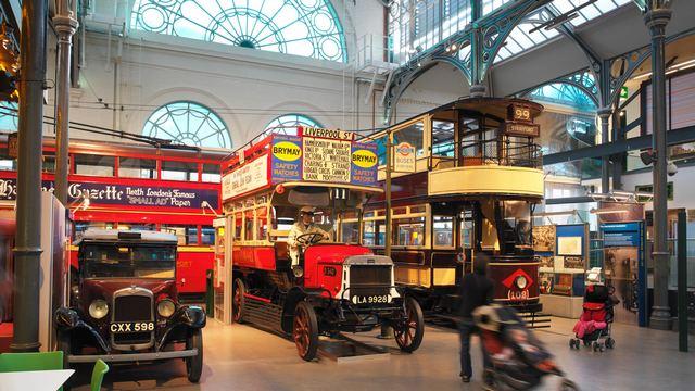 متحف المواصلات في لندن