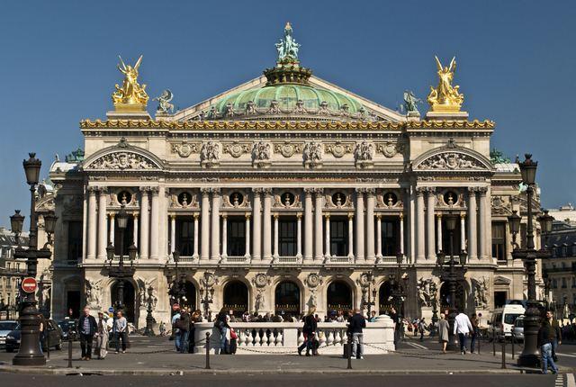 قصر غارنييه باريس - دار الاوبرا في باريس