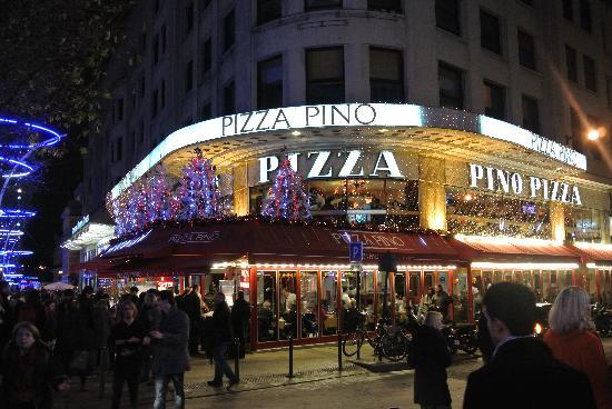 مطعم بيتزا بينو في باريس من افضل مطاعم باريس