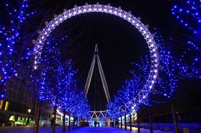 عين لندن من اهم اماكن سياحية في لندن