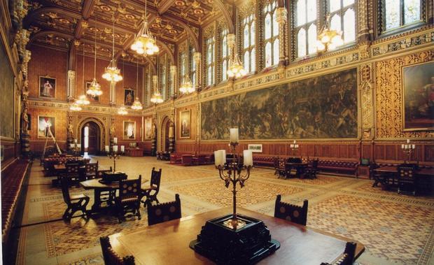 قصر وستمنستر في لندن انجلترا