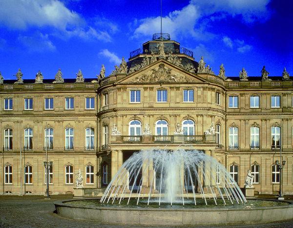 القصر الجديد في شتوتغارت
