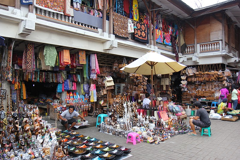سوق أوبود بالي