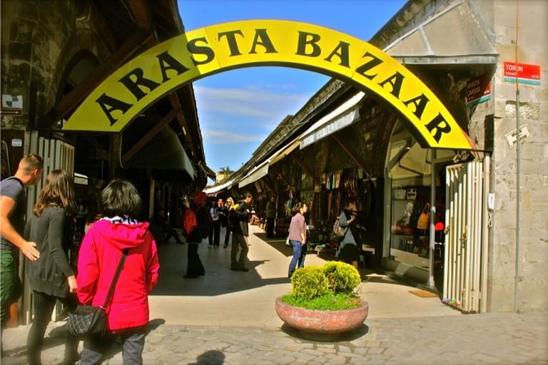 سوق اراستا في اسطنبول
