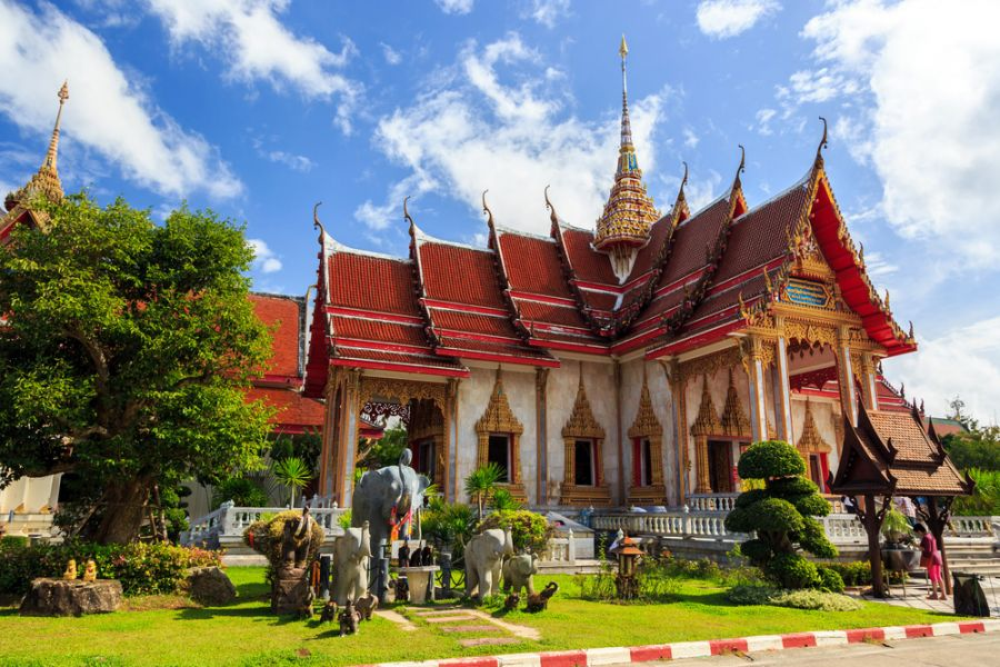 معبد وات تشالونج بوكيت