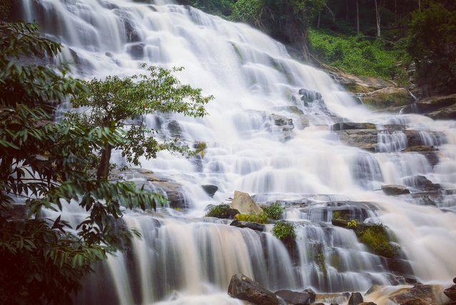 شلالات شنغماي تايلاند
