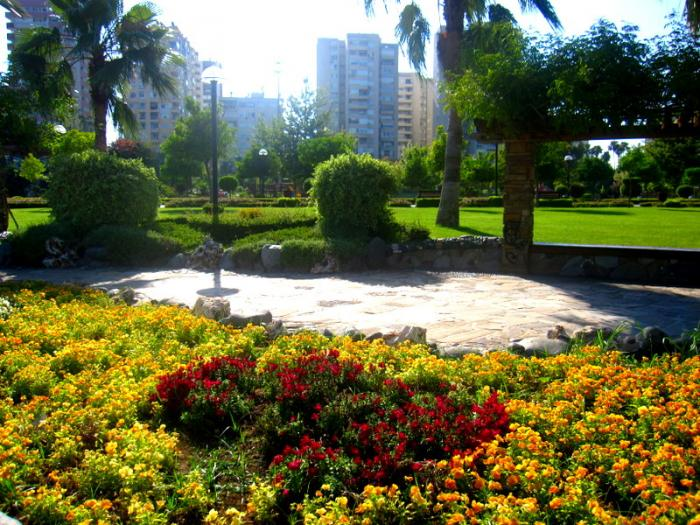 الحديقة المركزية في مدينة اضنة التركية