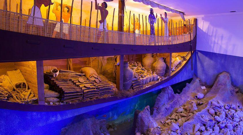 متحف الآثار البحرية في بودروم من اهم الاماكن السياحية في بودروم تركيا وهو من معالم السياحة في بودروم الهامة