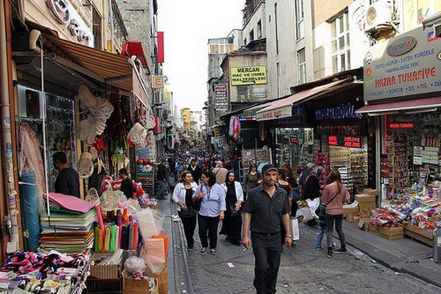 اسواق الجملة في اسطنبول