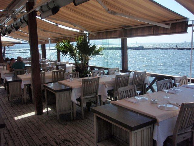 مطاعم على البحر في ازمير