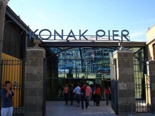 مركز تسوق كوناك بيير من اهم اماكن التسوق في ازمير تركيا