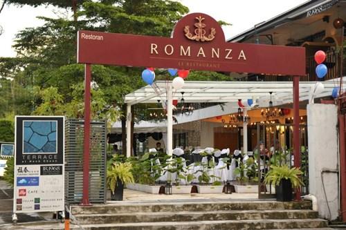 مطعم رومانزا من افضل مطاعم كوالالمبور