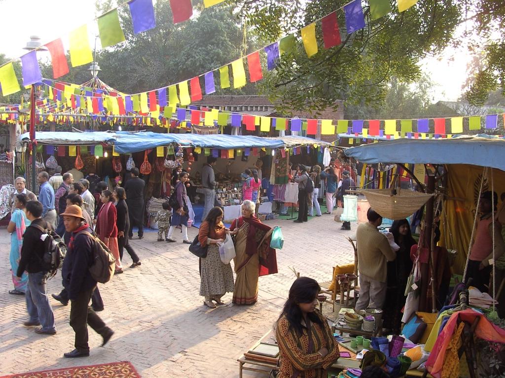 سوق دلي هات نيودلهي