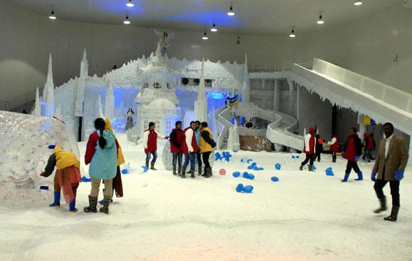 مدينة الثلج في بنجلور