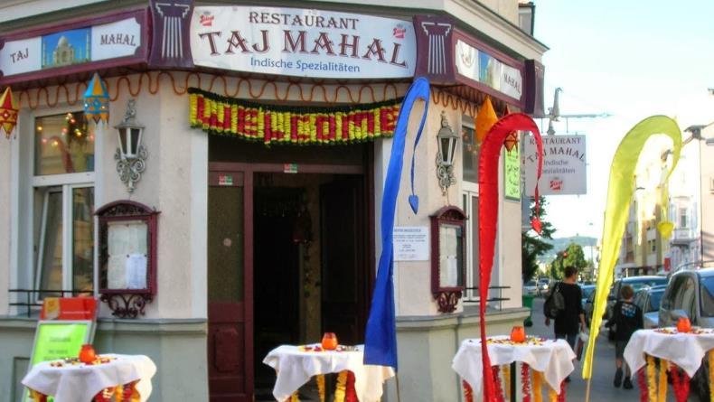مطعم تاج محل الهندي