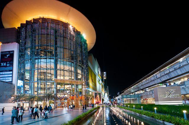مراكز التسوق في بانكوك
