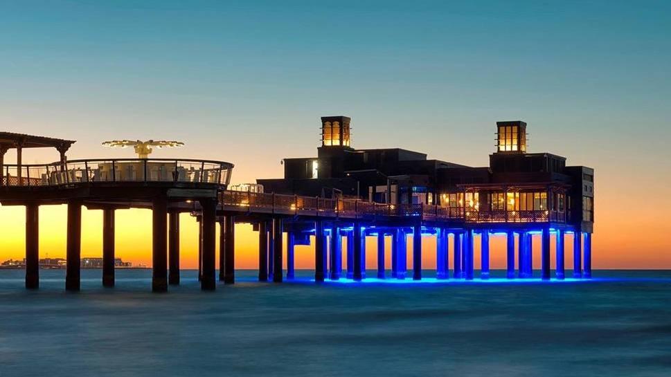 مطعم بيرشيك من افخم مطاعم رومانسية في دبي