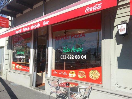 مطعم مابولي بيتزا مطاعم عربية في انترلاكن