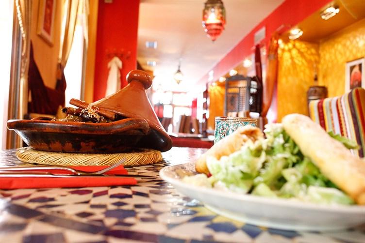 مطعم القصبة في برلين من افضل مطاعم حلال في برلين