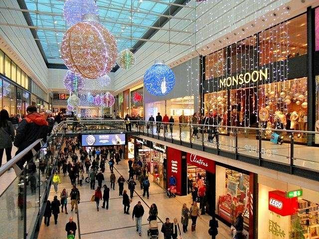 اماكن التسوق في مانشستر انجلترا
