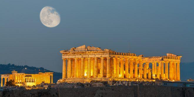 الاكروبوليس في اثينا