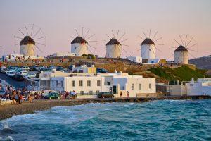 السياحة في ميكونوس - جزيرة ميكونوس