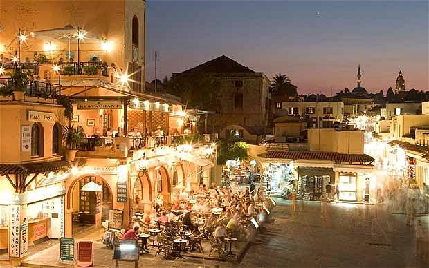 المدينة القديمة في رودس