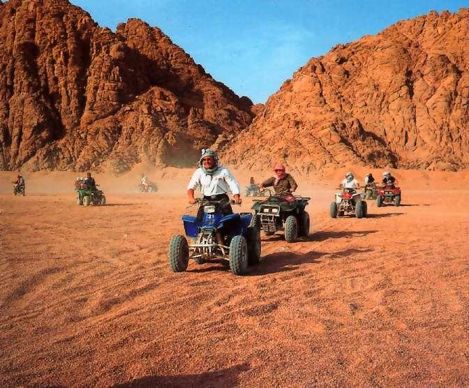 رحلة سفاري الصحراء في شرم الشيخ