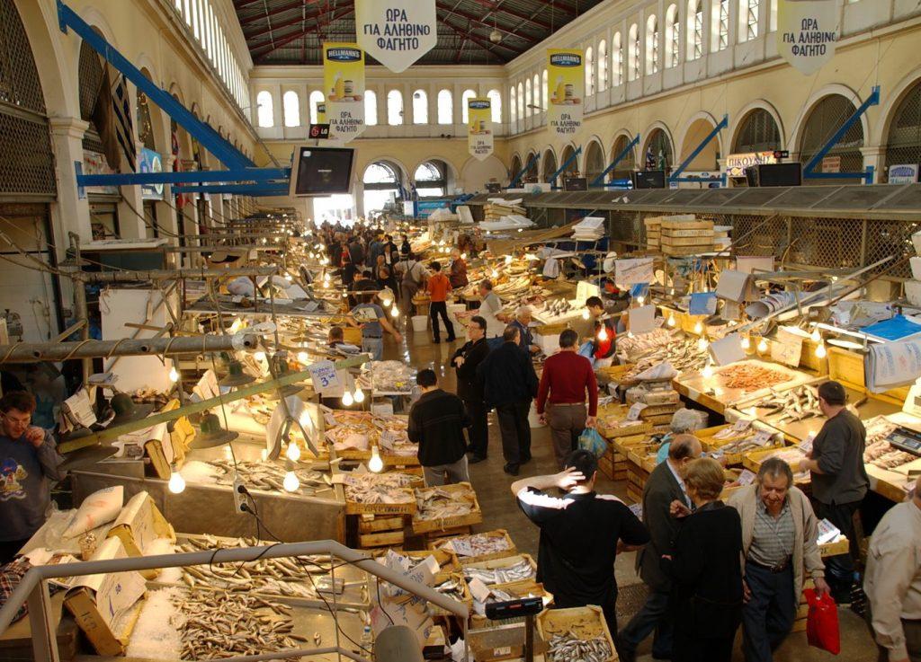 سوق اثينا المركزي