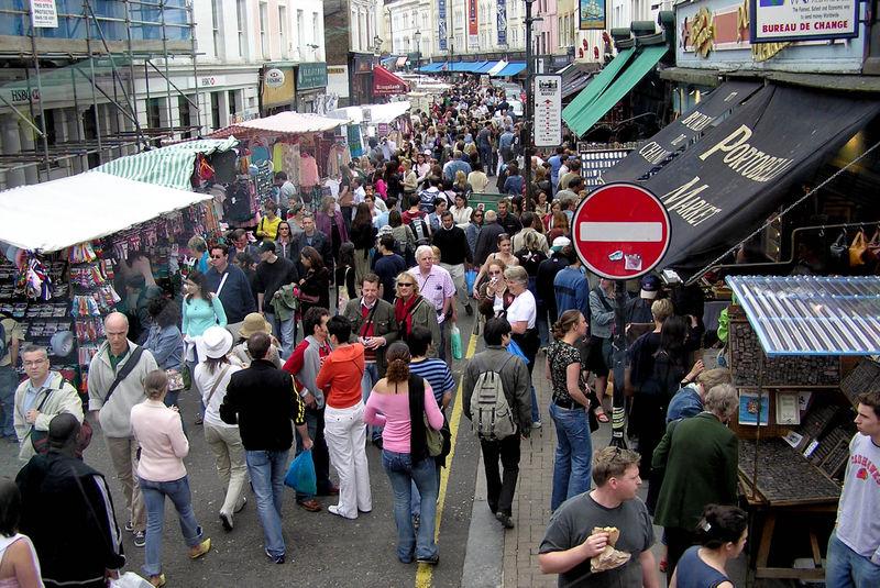 سوق بورتوبيللو لندن
