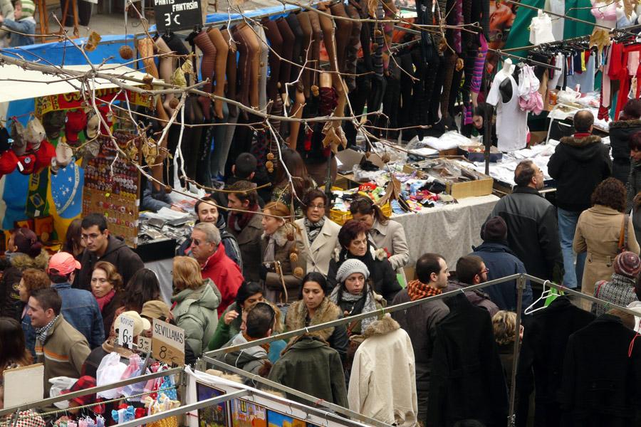 سوق El Rastro