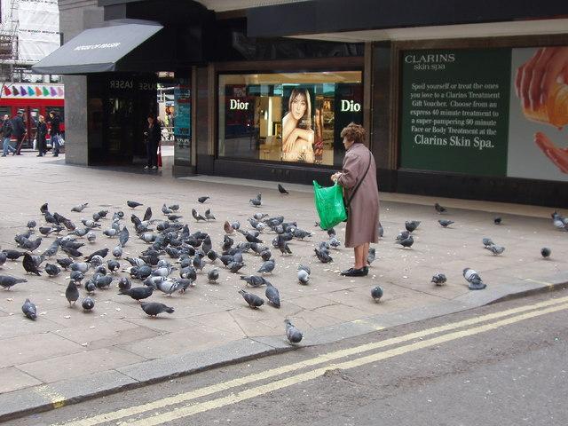 شارع اوكسفور في لندن