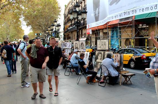 لامبلا برشلونة