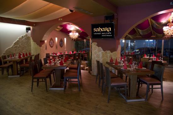 مطعم صالة الصحراء