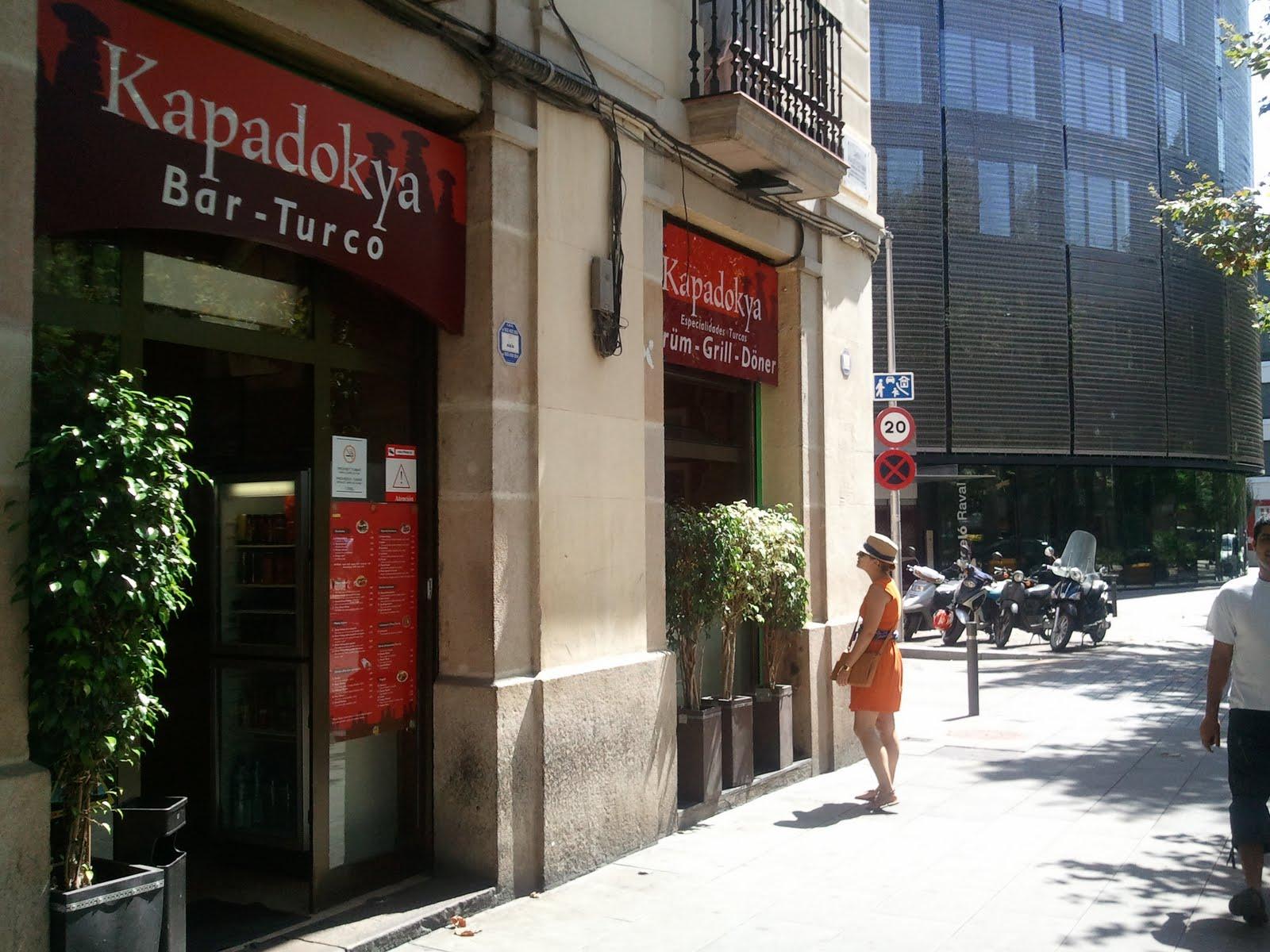 مطعم كبادوكيا التركي في برشلونة