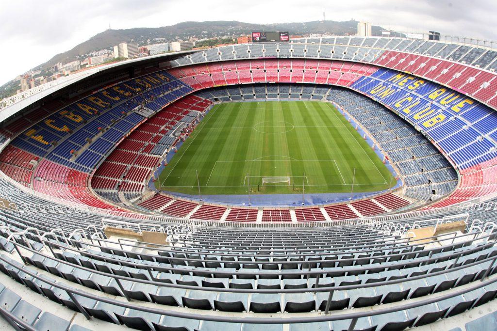 ملعب الكامب نو برشلونة