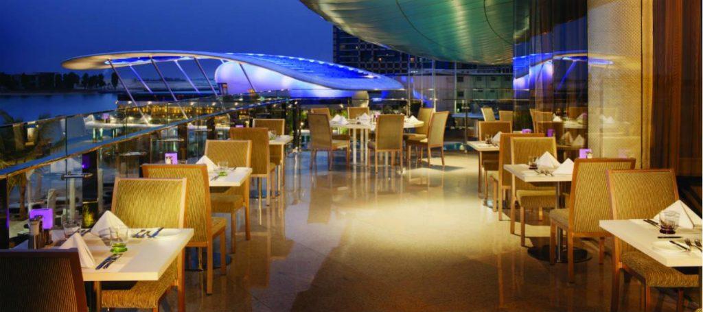 مطعم ماء الورد من افضل مطاعم ابوظبي الامارات