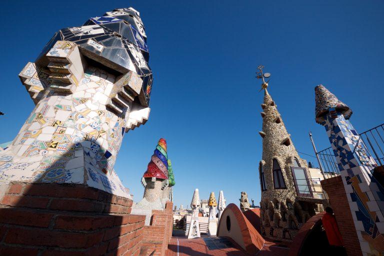 قصر جويل مدينة برشلونة