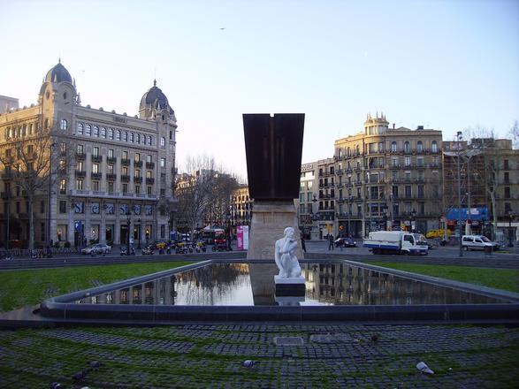 ساحة كاتالونيا برشلونة