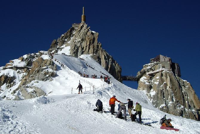 اماكن التزلج في شامونيه