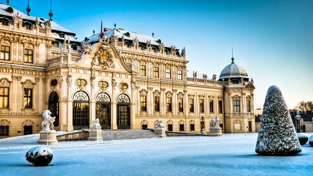 فيينا النمسا في الشتاء