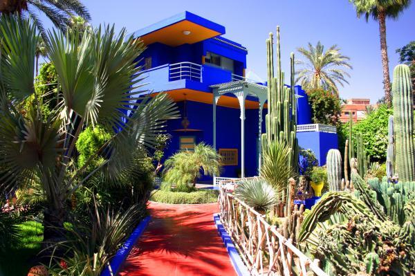 حدائق ماجوريل مراكش