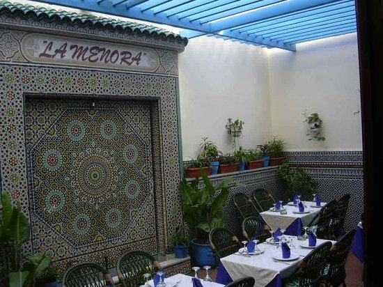 مطعم الشمعدان الرباط