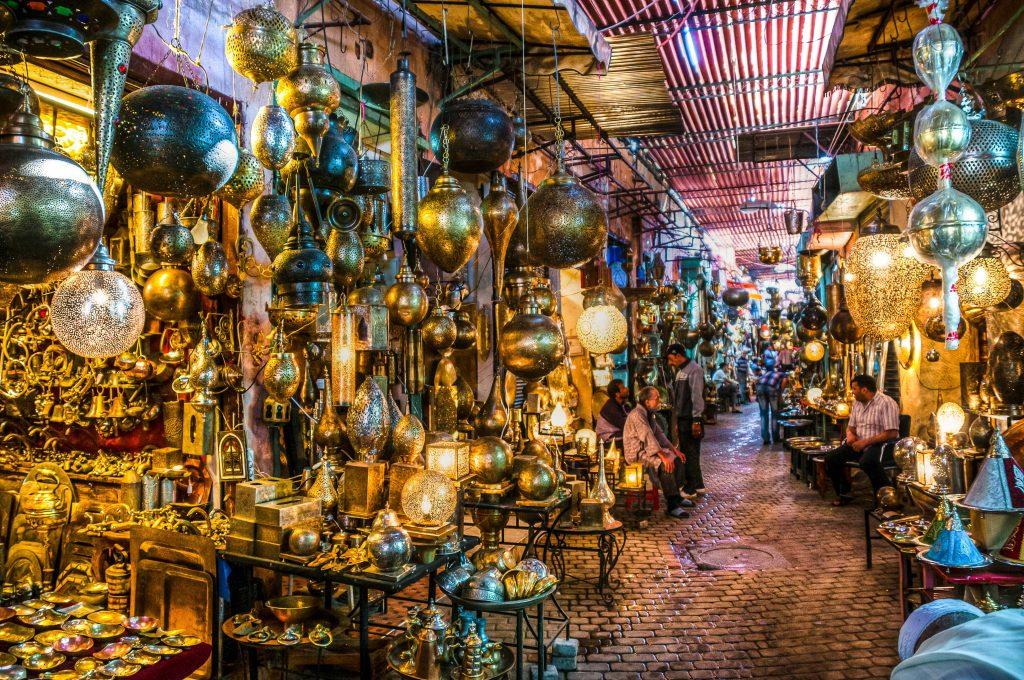 أسواق المدينة التجارية