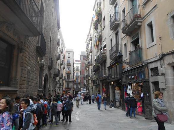 الحي القوطي في برشلونة اسبانيا