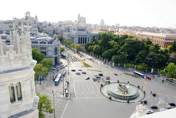 شارع غران فيا مدريد في اسبانيا