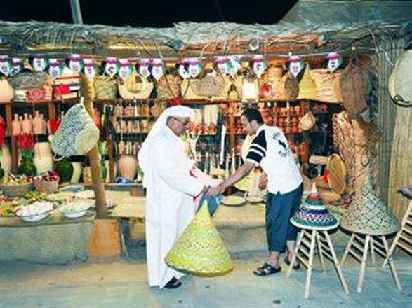 القرية التراثية ابوظبي من اهم معالم السياحة في ابوظبي الامارات